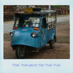 Thai Transport: the Tuk-Tuk