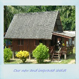 Our new and improved chalet