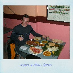 Rob's Indian feast